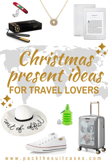 Christmas present ideas for travel lovers - 2018 gift guide | PACK THE SUITCASES
