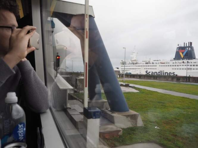 A Copenhagen to Hamburg train ferry adventure | PACK THE SUITCASES