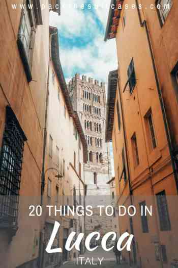 Things to do in Lucca, Italy | PACK THE SUITCASES