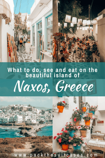 Things to do in Naxos, Greece | PACK THE SUITCASES