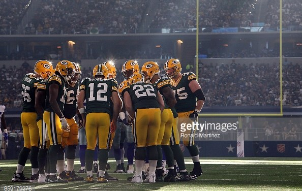 Post Game Play Action – Packers – Cowboys