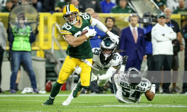 With Davante Adams Out Jimmy Graham Will Need to Pick up the Slack Against Dallas
