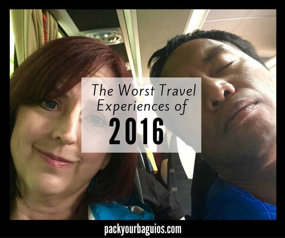 The Worst Travel Experiences of 2016
