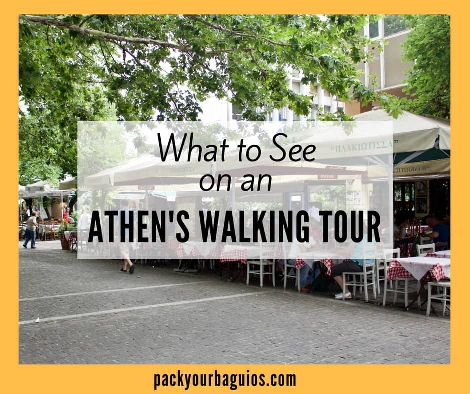 What to See on an Athen's Walking Tour