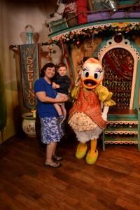 Daisy Character family vacation at Disney