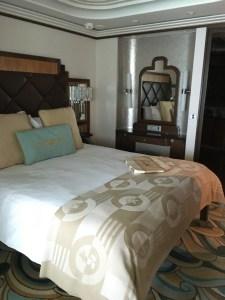 Disney Fantasy Concierge Cabin 12006 bedroom