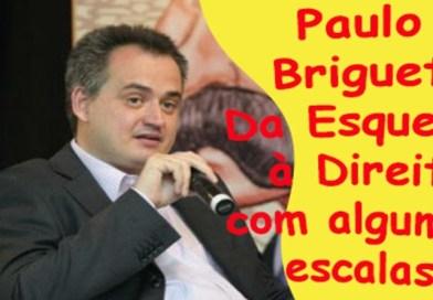 Conversa Política com Paulo Briguet. Da esquerda para a Direita com algumas escalas