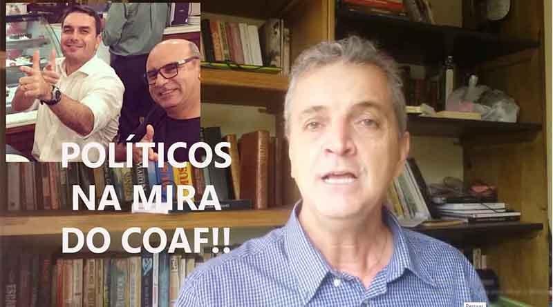 Flávio Bolsonaro, senador. Na mira do COAF. Veja por quê