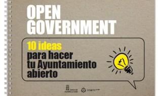 10 ideas para un ayuntamiento abierto  - open data -