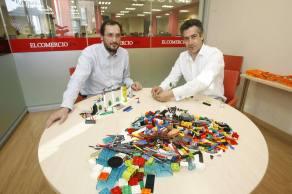 LegoView. Paco Prieto - Iñigo Felgueroso. Foto by El Comercio. Jose Simal