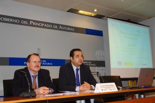 D. Julio Zapico y D. Jose Luis Carús