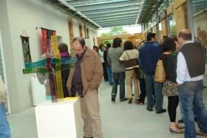 Exposición Cruces. Centro de Referencia de Artesan�a de Llanes.