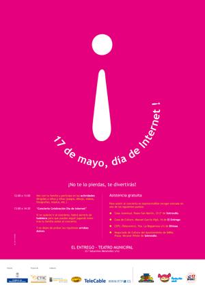 Cartel día de Internet 2009