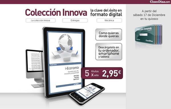 Cinco Días Colección Innova i-Economía Paco Prieto