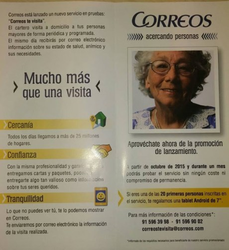 Correos. Paco Prieto