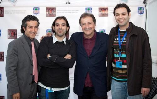 Paco Prieto, Chema Alonso, Paco Lobatón y Benyi Arregocés
