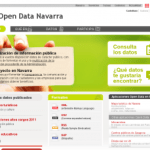 Portal open data Navarra