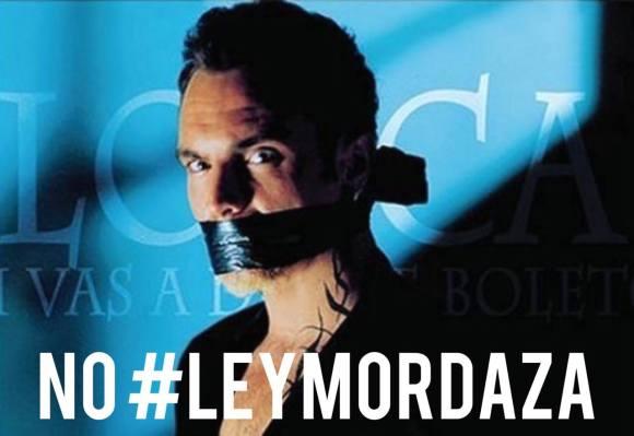 Serpiente con tacón - Ley Mordaza