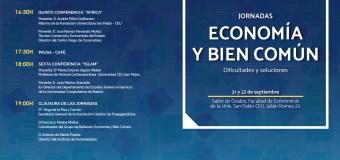 Jornadas Economía y Bien Común