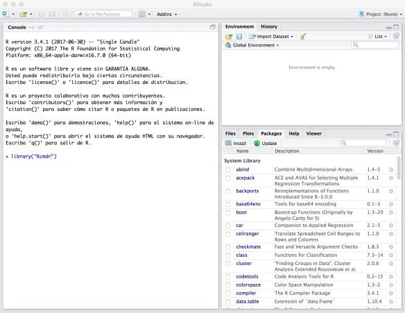 MacOS Math Station tutorial: R, Anaconda, Orange3