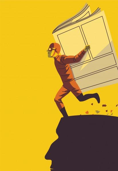 Illustrazione per l'agenda dell'Istituto Cervantes