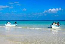 Praias da Tunísia no Verão