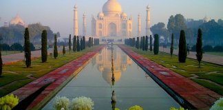 Circuito turístico na India