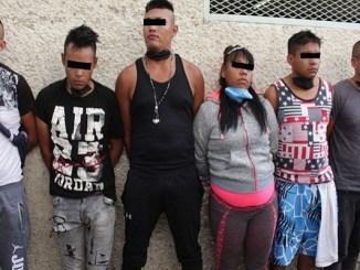 """Caen 10 integrantes de """"Los Dulceros"""", asaltantes de transporte público"""