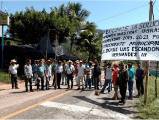 Tzotziles retienen a 40 militares en Chiapas en reclamo de obras incompletas