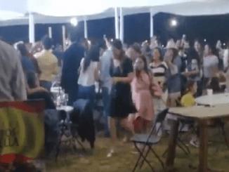 Celebran cata de vinos sin medidas sanitarias en Aguascalientes #VIDEO