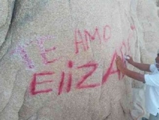 PAN busca que grafittis en áreas naturales se castiguen con 14 años de cárcel