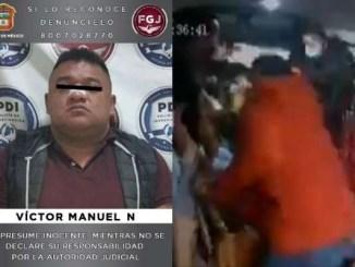 Procesan a sujeto que asesinó a pasajero de combi en Naucalpan