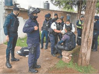 11 policías lesionados tras enfrentamiento con normalistas en Tiripetío