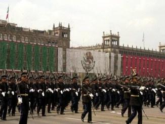 Presidencia de la República cancela el desfile militar 2020