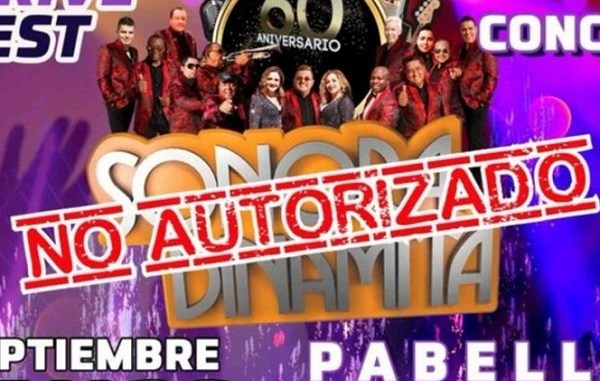 Por no tener permiso, autoridades en Ecatepec cancelan concierto de la Sonora Dinamita