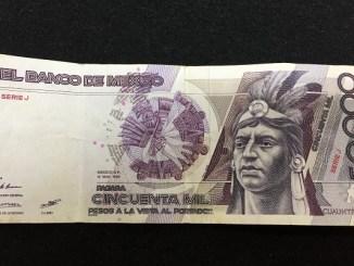 ¿Recuerdas el billete de 50 mil pesos? Falleció el hombre que inspiró el rostro impreso