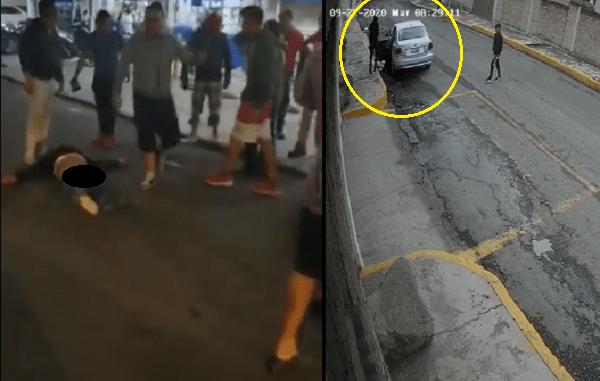 Continúan robos y linchamientos en Ecatepec #VIDEOS