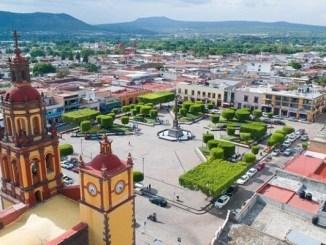 El valle de San Juan del Río en Querétaro, uno de los más fértiles del país