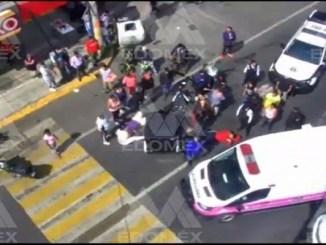 #VIDEO capta aparatoso choque entre mototaxi y motociclista