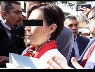 Rosario Robles obtiene suspensión definitiva contra prisión preventiva