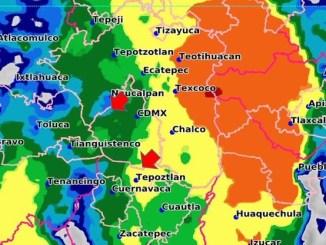 Se pronostican lluvias muy fuertes para veinte estados del país