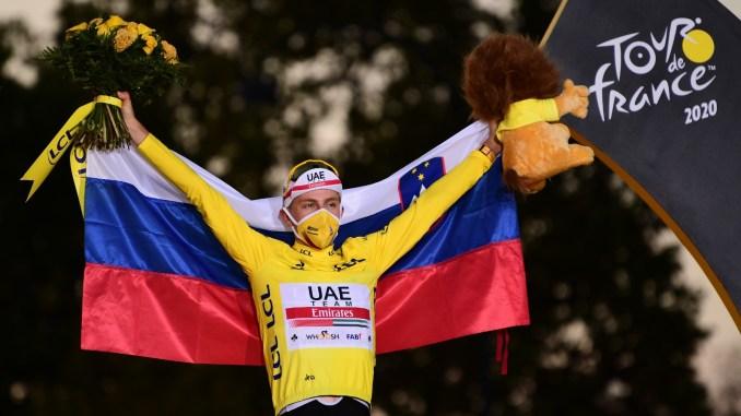 El esloveno Tadej Pogacar se corona campeón en la Tour de Francia