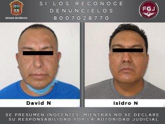 Caen policías de Zumpango, sospechosos de participar en un doble homicidio ocurrido en Tecámac