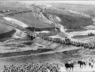 La segunda guerra sino-japonesa, el conflicto armado inmerso en la Segunda Guerra Mundial