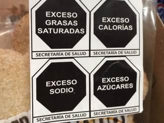 Premia OMS a Secretaría de Salud por nuevo etiquetado con sellos para alimentos