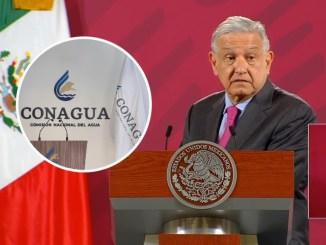 """Anuncia AMLO """"limpieza"""" en Conagua"""