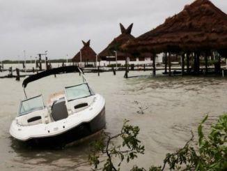 "Huracán Delta ""nos tuvo compasión"", afirma AMLO"