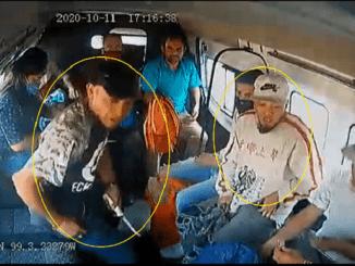 """""""Vete relajado chofer, contigo no es el pedo"""", gritan dos asaltantes de combi en Ecatepec #VIDEO"""