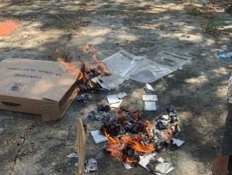 Tras elecciones, queman boletas en cuatro municipios de Hidalgo
