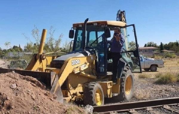 Campesinos liberan vías de tren en Chihuahua